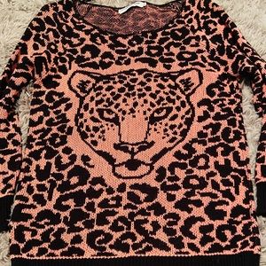 NWT Animal Print Sweater